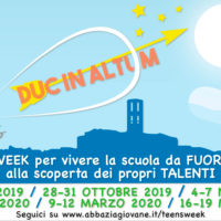 "LA TEENS-WEEK ""PRENDE IL LARGO"" ALL'ISTITUTO COMPRENSIVO PERUGIA 1"